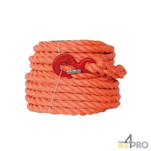 Cuerda con polea PP