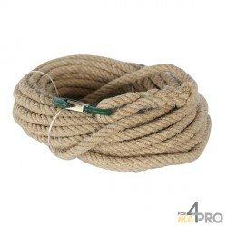 Cuerda con polea cáñamo sintético