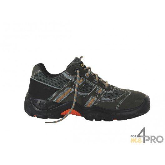 Zapatos de seguridad hombre Coyote bajos - normas S1P/SRC