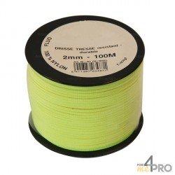 Cordel nylon fluorescente Ø3mm - 100 m