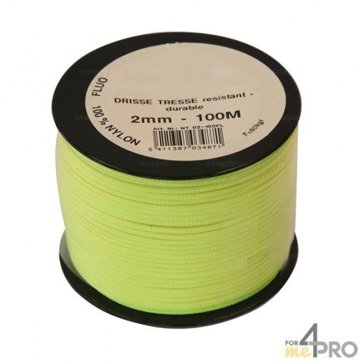 Cordel de nylon fluorescente Ø3mm