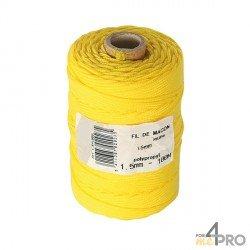 Cordel polipropileno amarillo Ø1,5mm