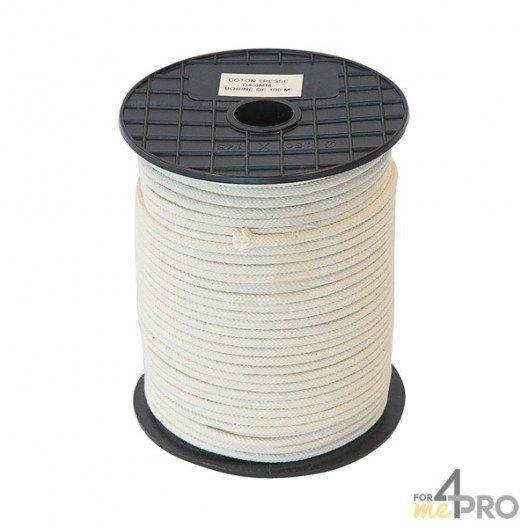 Cordel algodón trenzado Ø2mm