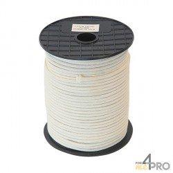 Cordel algodón trenzado Ø4mm