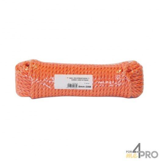 Cuerda multiuso de polipropileno 8mm/20m