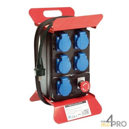 Caja de obra eléctrica IP44