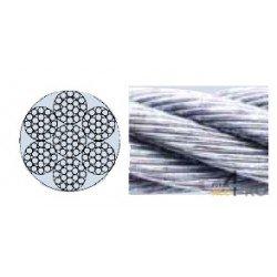 Cable de acero 3 mm - 7 x 19