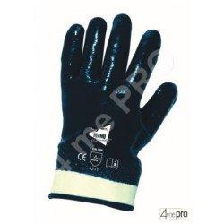 Guantes de manutención pesada - nitrilo pesado impermeable mano entera - Norma EN 388 4211