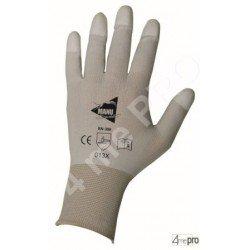 Guantes de manutención fina - poliuretano blanco en soporte nylon blanco - extremidades recubiertos - Norma EN 388 013x