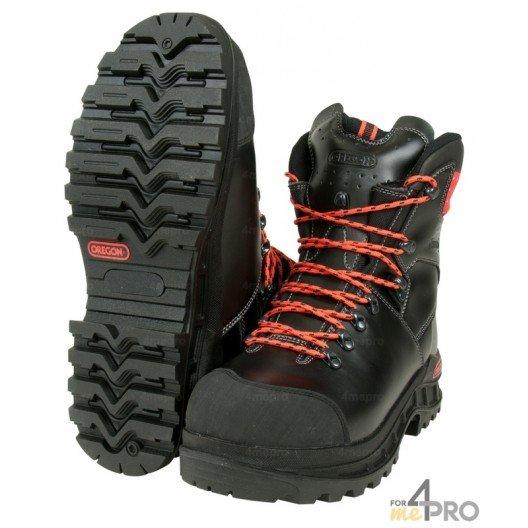 Zapatos de protección anticorte Waipoua - clase 1