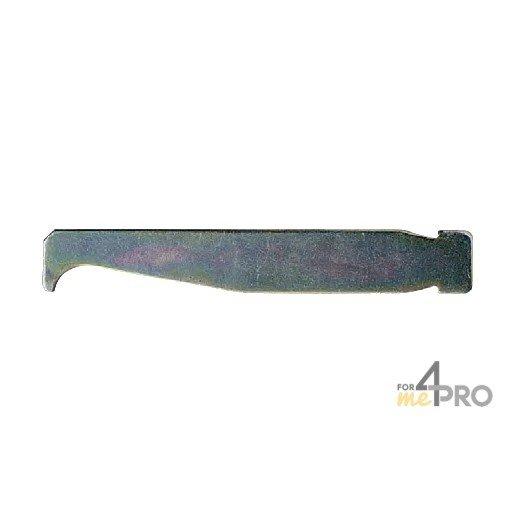 Limpiador metálico para espada de motosierra