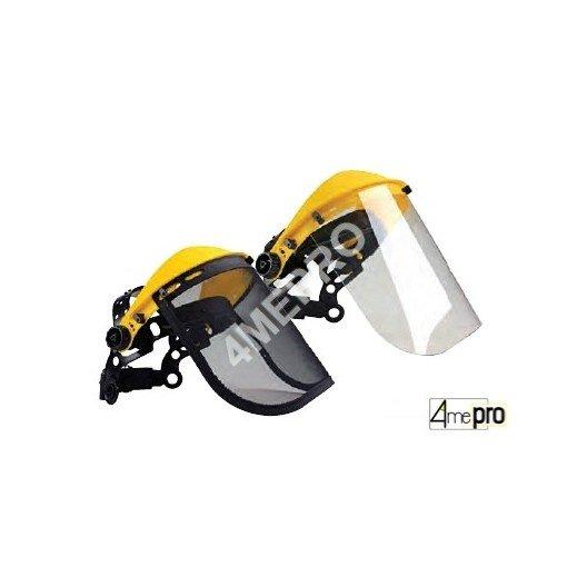Visera de protección y banda para la cabeza - Norma EN 1731 F/EN 166 3B