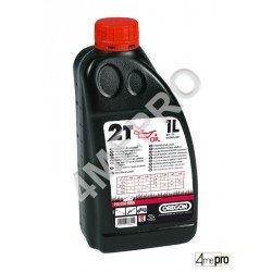 Aceite semisintético para motores de 2 tiempos