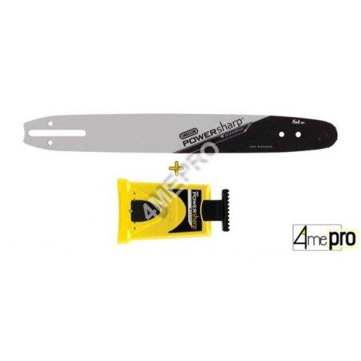 Set PowerSharp® con espada de motosierra + afiladora