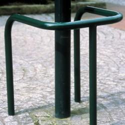 Trípode galvanizado para espacios verdes zinzimir + polvo de poliéster