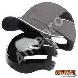 Gorra de seguridad Todas estaciones gris NF EN812 A1