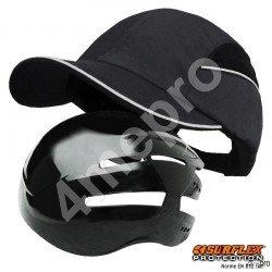 Gorra de seguridad Todas estaciones negra NF EN812 A1
