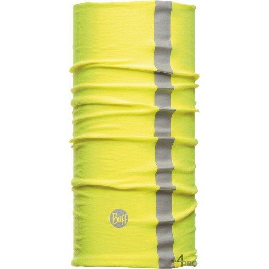 Cinta multifunción reflectante de protección Buff Thermal amarilla - Contra el calor y el frío