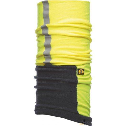 Cinta multifunción de protección reflectante Buff Windproof amarilla y azul - Contra el viento y el frío
