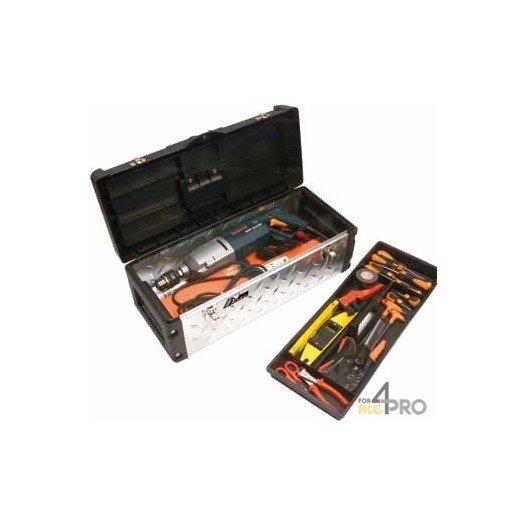 Caja de herramientas profesional 66 x 29 x 26 cm
