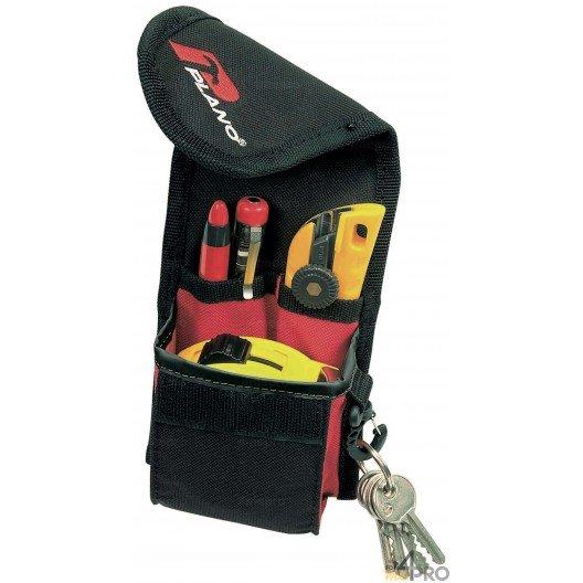 Bolsillo porta-cinta métrica y portaherramientas con mosquetón