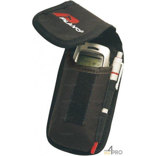 Bolsillo porta-móvil + portabolígrafo