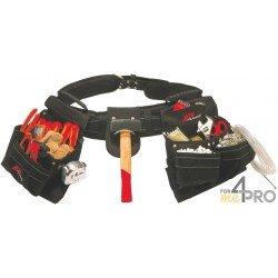Cinturón portaherramientas y tornillería reforzado