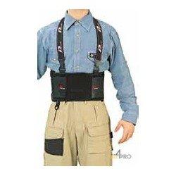 Cinturón de mantenimiento lumbar con tirantes
