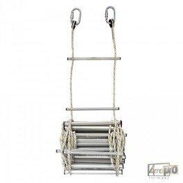 Escaleras de cuerda y de cable